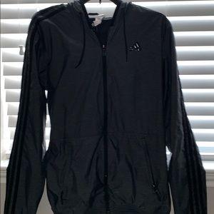 Adidas Men's Windbreaker Jacket   Size S